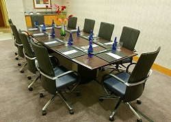 executive board room Crowne Plaza San Francisco Airport Hotel