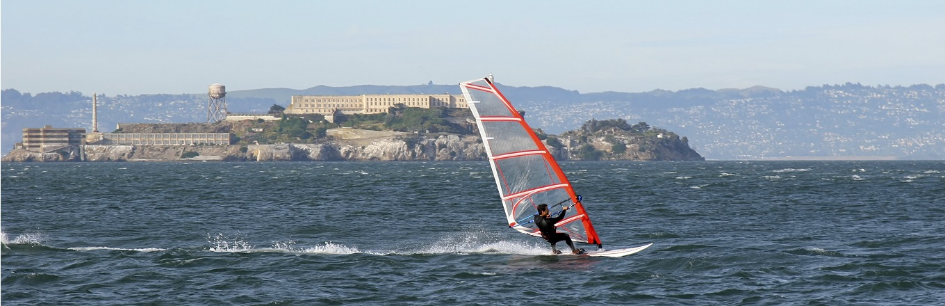 windsurfing san francisco bay