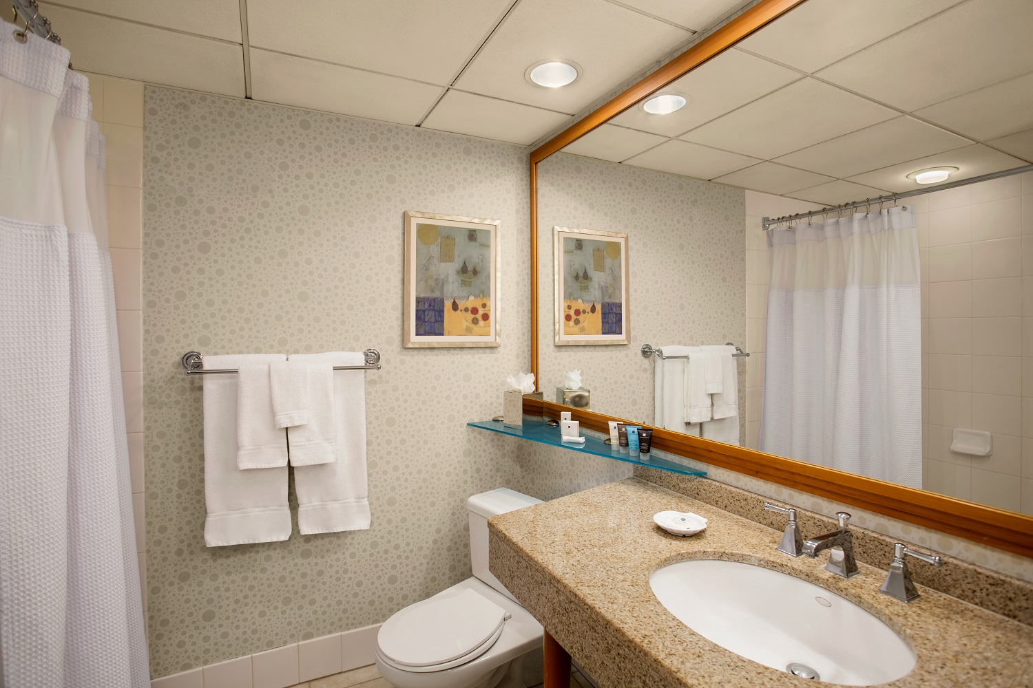 Renovations Crowne Plaza San Francisco Airport - Renovated bathrooms
